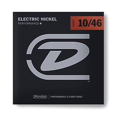 Jim Dunlop DEN1046 Nickel Wound Medium Elektro Gitar Teli (10-46)