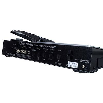ROLAND GR-55GK-BK Gitar Synthesizer - GK3 Manyetik Setli