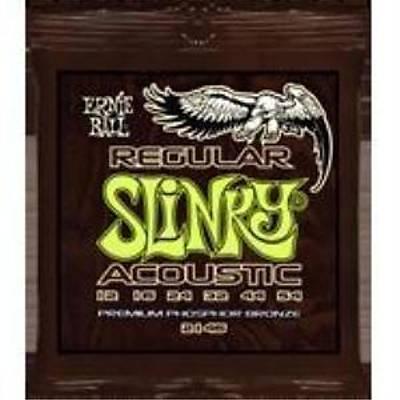 Ernie Ball P02146 Regular Slinky Acoustic   Bronze 12-54 Akustik Gitar Teli