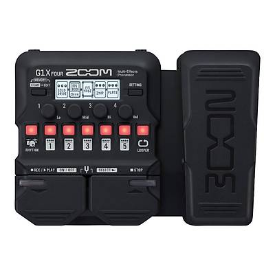 Zoom G1x FOUR Expression Pedallý Multi-Efekt Prosesörü