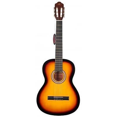 BARCELONA LC 3900 BS Brown Sunburst Klasik Gitar Hediyeli