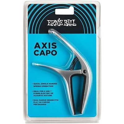 Ernie Ball P09601 Axis Dual Radius Capo - Silver