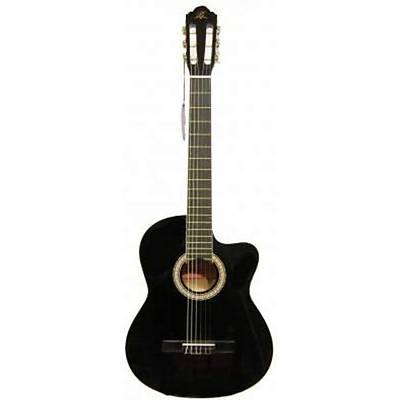 BARCELONA LC 3900 CBK Cutaway Siyah Klasik Gitar Hediyeli