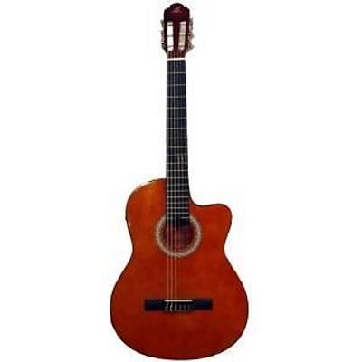Barcelona LC 3900 CEQ OR Elektro Klasik Gitar