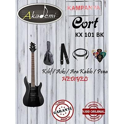 CORT  KX 101 BK Elektro Gitar (Hediyeli))