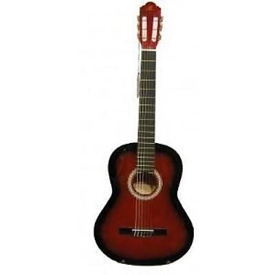 BARCELONA LC 3900 RDS Kýrmýzý Klasik Gitar Hediyeli