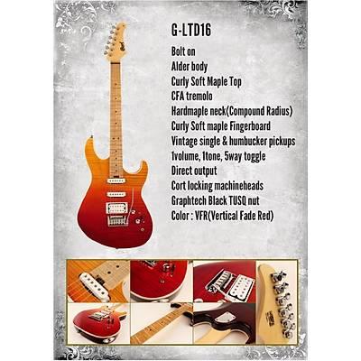 CORT G-LTD16JSS  Elektro Gitar (Hediyeli)