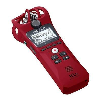 Zoom H1n Digital Handy Recorder (Kýrmýzý)