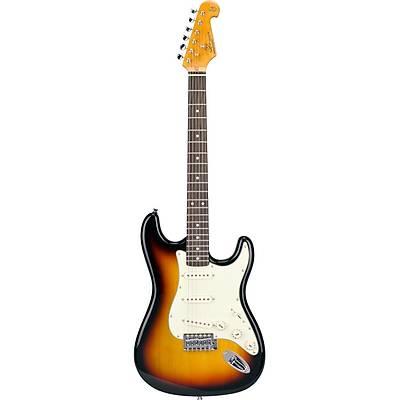 SX SST62 3TS Stratocaster Elektro Gitar / Kýlýf