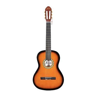 Fenix FX-CG851SB 4/4 Klasik Gitar - Kýlýf - Pena - Pena Kutusu