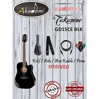 TAKAMINE GD15CE BLK Elektro Akustik Gitar (Hediyeli)