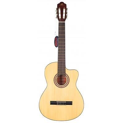 BARCELONA LC 3900 CNL Cutaway Natural Klasik Gitar Hediyeli