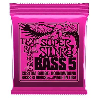 Ernie Ball P02824 Super Slinky Nickel 40-125 (5 Telli) Bas Gitar Teli