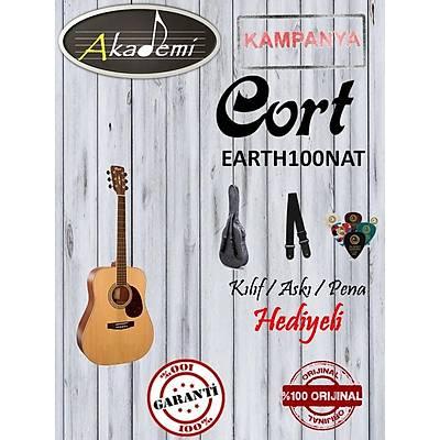 CORT EARTH100NAT AKUSTÝK Gitar / Hediyeli