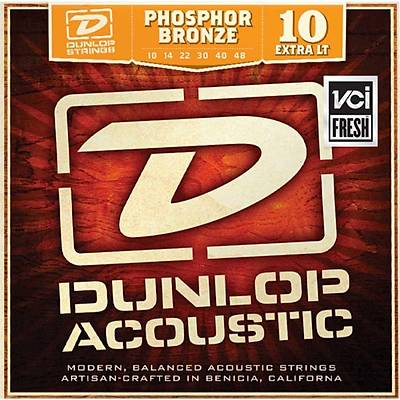 Jim Dunlop DAP1048 Phosphor Bronze Akustik Gitar Teli (10-48)