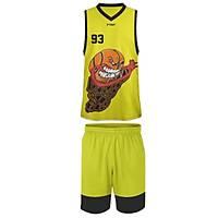 Liggo Blazer Basketbol Forma Þort Takýmý Sarý