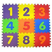 Eðitici Eva Oyun Karosu Yer Matý Puzzle Sayýlar 33x33cm 7mm 10 Adet