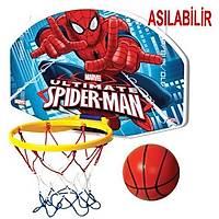 Spiderman Örümcek Adam Basketbol Potasý Seti Küçük Boy 31x26 Cm