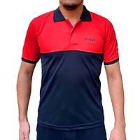 Liggo Antrenman T-Shirt Polo Kýrmýzý