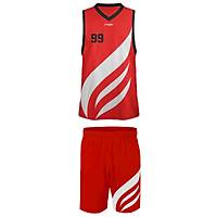 Liggo Heat Basketbol Forma Þort Takýmý Kýrmýzý