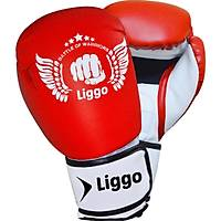 Liggo Force Boks Kick Boks Muay Thai Eldiveni Kýrmýzý