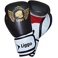 Liggo Force Boks Kick Boks Muay Thai Eldiveni Siyah