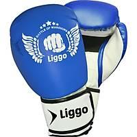 Liggo Force Boks Kick Boks Muay Thai Eldiveni Mavi