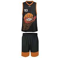 Liggo Blazer Basketbol Forma Þort Takýmý Siyah