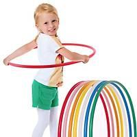 Hulahop Renkli Hula hop 60 cm Ayarlanabilir Boy Hulalop