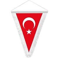 Türkiye Flama  20x30 cm Vantuzlu