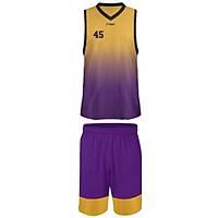 Liggo Lakers Basketbol Forma Þort Takýmý Sarý