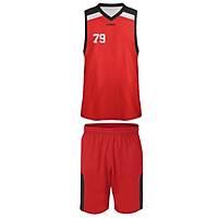 Liggo Jazz Basketbol Forma Kýrmýzý