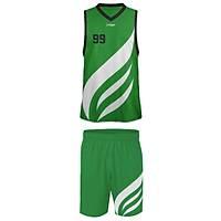 Liggo Heat Basketbol Forma Þort Takýmý Yeþil