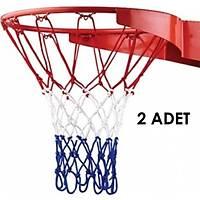 Basketbol Filesi Kalýn Floþ Maç Çift 3,5 mm Renkli