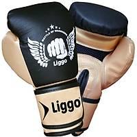 Boks Eldiveni Muay Thai Kick Boks Eldiveni Liggo Power Gold