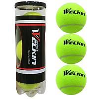 Welkýn 3 Adet Vakumlu Tenis Topu Tenis Maç Topu