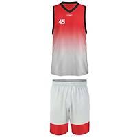 Liggo Lakers Basketbol Forma Þort Takýmý Kýrmýzý