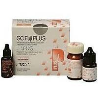GC Fuji Plus Intro Paket (Toz-Likit) - Reçineyle Deðiþtirilmiþ Cam Ýyonomer Yapýþtýrma Simaný