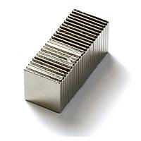 Boy 10mm X En 10mm X Kalýnlýk 1mm Köþeli Neodyum Mýknatýs