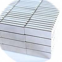 Boy 30mm X En 10mm X Kalýnlýk 1,5 mm Neodyum Mýknatýs