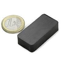 40x25x10 Köþeli Ferrit Kömür Seramik Magnet Mýknatýs