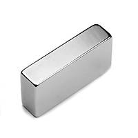 Boy 40mm X En 20mm X Kalýnlýk 10mm Neodymium Magnet