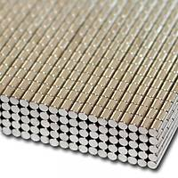 Çap 2 mm x Kalýnlýk 3 mm Yuvarlak Neodyum Mýknatýs