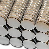 Çap 15mm X Kalýnlýk 2.5mm Neodyum Mýknatýs