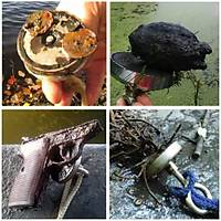 Güçlü Halkalý Neodyum Pot Mýknatýs, 48mm Çapýnda, Magnet Fishing, Kanca Mýknatýs, Kurtarma Mýknatýsý