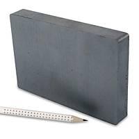150x100x20 Büyük Güçlü Ferrit Kömür Seramik Magnet Mýknatýs