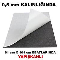 Kalýnlýk 0,5 mm Ebatlar: 61X101 cm Arkasý Yapýþkanlý Çýkartmalý Tabaka Magnet Mýknatýs