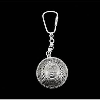 925 Ayar Gümüş MHP Anahtarlık