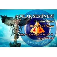 Astroloji Akademisi Açýlar Seminer Paketi (Astroloji Akademisi ve Astroloji Derneði Üyelerine Özel Ýndirimli)