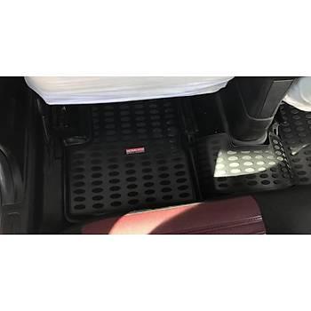 Fiat Punto Evo 3D Paspas Grande Punto Havuzlu Paspas Tam Uyumlu